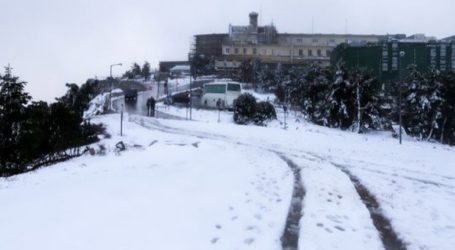 Διακόπηκε η κυκλοφορία στη λεωφόρο Πάρνηθας