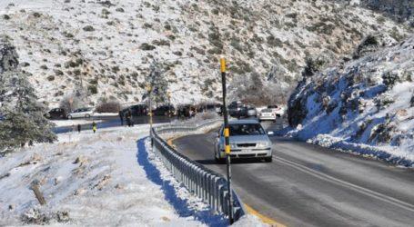 Διεκόπη η κυκλοφορία στην Περιφερειακή Οδό Πεντέλης