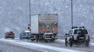 Απαγορεύτηκε η κυκλοφορία φορτηγών και λεωφορείων σε τμήματα του οδικού δικτύου Χαλκιδικής