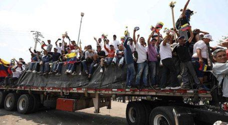 Πέρασε στη Βενεζουέλα το πρώτο φορτίο ανθρωπιστικής βοήθειας