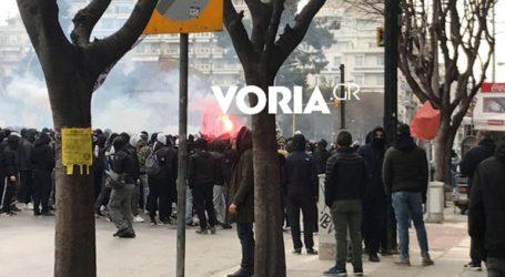 Πορεία διαμαρτυρίας οπαδών του ΠΑΟΚ για τον νέο αθλητικό νόμο