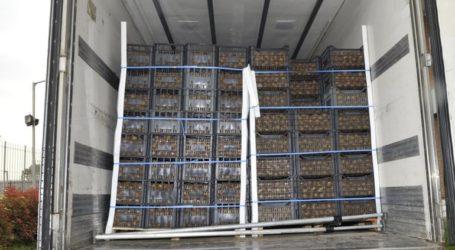 Στη δέσμευση 1.154 κιλών οπωροκηπευτικών προχώρησαν οι Αρχές