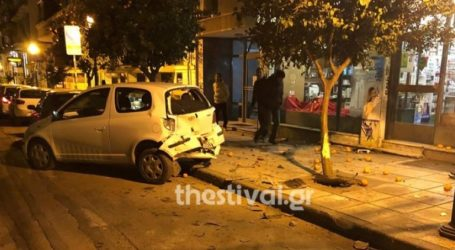 Επεισοδιακή καταδίωξη αυτοκινήτου στο κέντρο της Θεσσαλονίκης