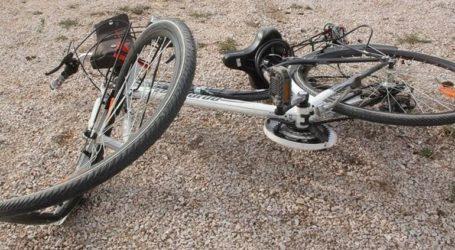 Φορτηγό παρέσυρε και σκότωσε ποδηλάτη