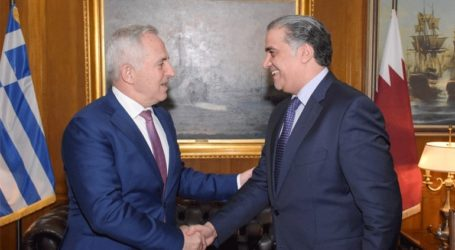 Συνάντηση του ΥΕΘΑ με τον πρέσβη του Κατάρ