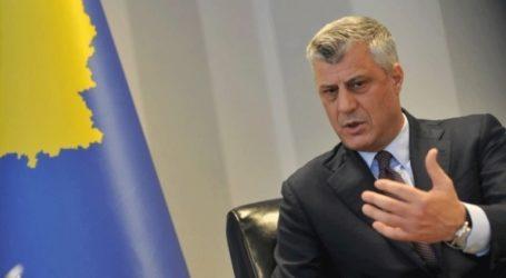 Την παραίτησή του προανήγγειλε ο Θάτσι, εάν απορριφθεί η συμφωνία με τη Σερβία