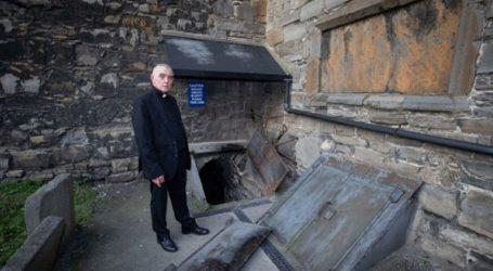 Άγνωστοι έκλεψαν το κεφάλι ενός σταυροφόρου από εκκλησία του Δουβλίνου