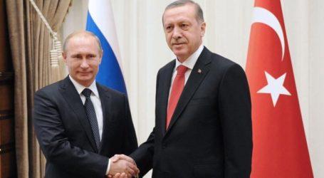 Ο Πούτιν ευχήθηκε «χρόνια πολλά» στον Ερντογάν για τα 65α γενέθλιά του