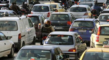 Αυξημένη η κίνηση στους δρόμους