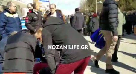 Επεισόδια κατά τη διάρκεια επίσκεψης της Γεροβασίλη στην Πτολεμαΐδα