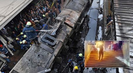 H απόλυτη φρίκη στον σιδηροδρομικό σταθμό του Καΐρου