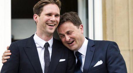Ο πρωθυπουργός του Λουξεμβούργου υπερασπίστηκε τον «γάμο» του με άνδρα