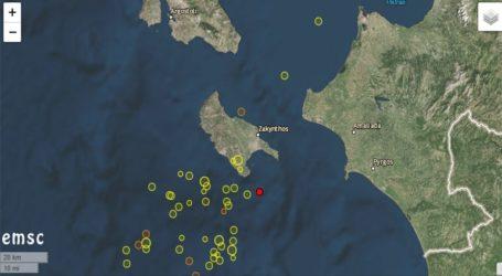 Σεισμός 4,7 Ρίχτερ στη Ζάκυνθο