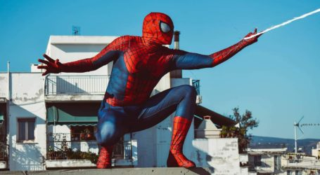 Spiderman: Ένας σούπερ ήρωας για μικρά και μεγάλα παιδιά στον Βόλο [εικόνες]