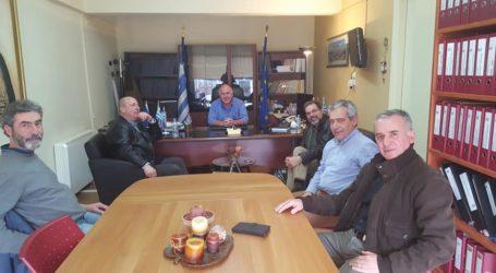 Με τον συντονιστή εκπαιδευτικού έργου συναντήθηκε ο Δήμαρχος Ρήγα Φεραίου