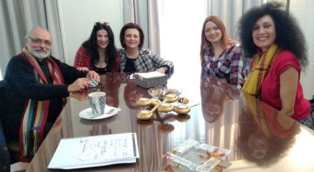 Ηθοποιοί συνάντησαν την Μαρίνα Χρυσοβελώνη στο Υπουργείο