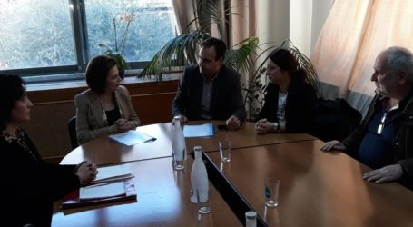 H Υφυπουργός Εσωτερικών Μ. Χρυσοβελώνη στα Τρίκαλα