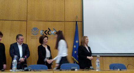 Στην τελετή αποφοίτησης σπουδαστών του Εθνικού Κέντρου Δημόσιας Διοίκησης η Μ. Χρυσοβελώνη