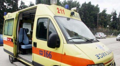ΤΩΡΑ: Στο Νοσοκομείο Βόλου 13χρονος μαθητής μετά από τραυματισμό
