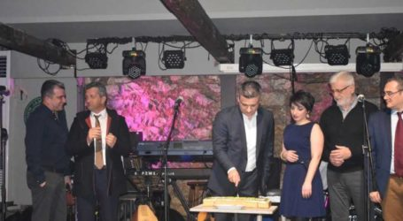 Την καθιερωμένη κοπή πίτας πραγματοποίησαν οι Γεωπόνοι Λάρισας σε μια όμορφη βραδιά (φωτο)