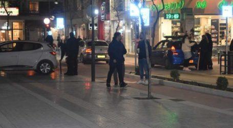 Του ξήλωσαν πινακίδα στο κέντρο της Λάρισας, έξαλλος ο οδηγός… (φωτο)