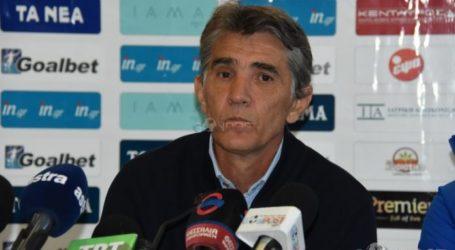 Ρ. Ντόστανιτς: Ήμασταν κακοί, χάσαμε δίκαια
