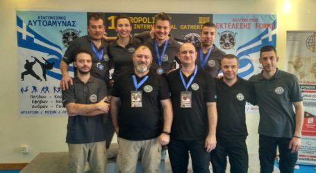 Αργυρά και χάλκινα μετάλλια σε Βολιώτες αθλητές
