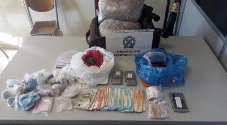 Πέντε συλλήψεις Λαρισαίων για 2,5 κιλά χασίς! (φωτό)