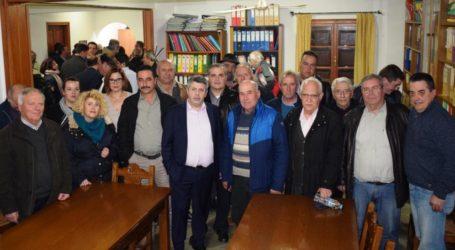 63 υποψηφίους παρουσίασε ο Μ. Παπαδημητρίου στο Ν. Πήλιο