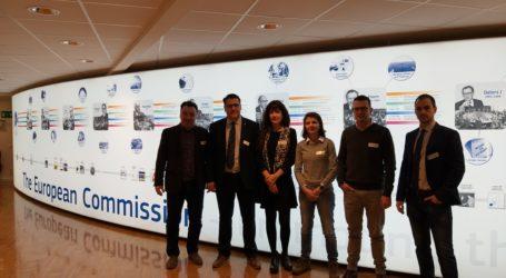 Μέλη του ΣΒΘΚΕ στην Ευρωπαϊκή Επιτροπή στις Βρυξέλλες