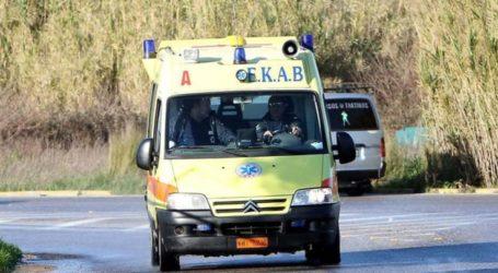 Μηχανάκι παρέσυρε… ποδήλατο στον Τύρναβο! – Στο νοσοκομείο δύο άτομα