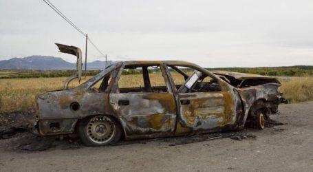 Έκλεψαν αυτοκίνητο και μετά το έκαψαν