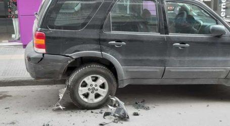 «Χτύπησαν» το αυτοκίνητο γνωστού Λαρισαίου δημοσιογράφου στο κέντρο της πόλης το βράδυ του Σαββάτου (φωτο)
