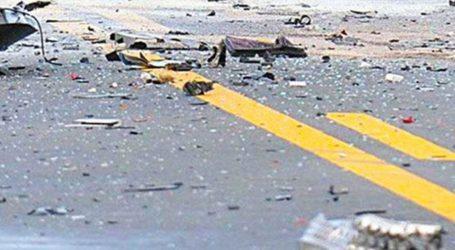 Φορτηγό συγκρούστηκε με όχημα – σκούπα του Δήμου Βόλου