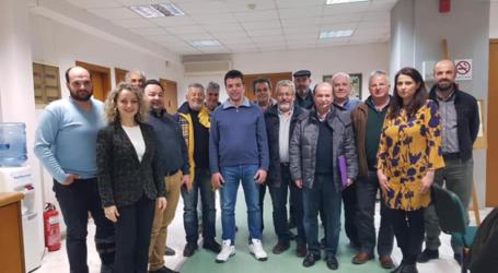 Συνάντηση των Ομοσπονδιών των Νομών Λάρισας, Μαγνησίας Τρικάλων, Καρδίτσας και Φθιώτιδας στο ΙΜΕ ΚΕΚ ΓΣΕΒΕΕ Θεσσαλίας