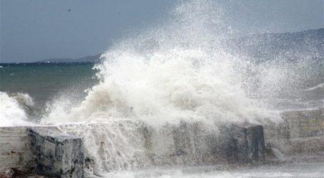 Θυελλώδεις ανέμοι στη Μαγνησία – Προειδοποίηση του Λιμεναρχείου Βόλου