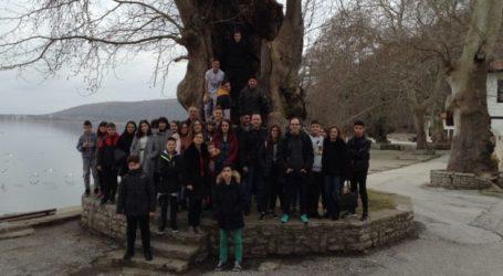 «Εξόρμηση» των μαθητών του Γυμνασίου και Λυκειακών τάξεων Κοιλάδας στην Καστοριά