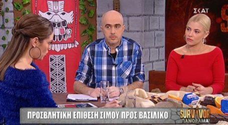 Survivor: Έξαλλη η Μπάγια Αντωνοπούλου με τον Σίμο! «Αλήτικη η συμπεριφορά του»