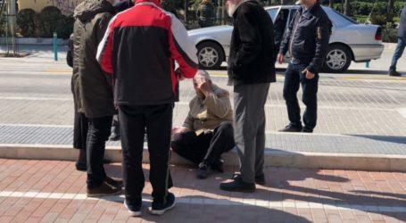 Νέα πτώση και τραυματισμός στη Μεγάλου Αλεξάνδρου (φωτό)
