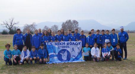 Επιτυχίες για το τμήμα στίβου της Νίκης Βόλου στους αναπτυξιακούς αγώνες ανωμάλου στα Τρίκαλα