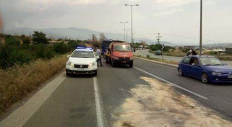 Σοβαρό τροχαίο με τρεις τραυματίες έξω από τον Τύρναβο