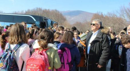 Μεγάλη επιτυχία και συμμετοχή σημειώνει η δράση της Περιφέρειας Θεσσαλίας «Διεκδίκηση Χιονονιφάδας»