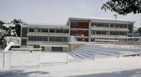 Ποια σχολεία του Δήμου Βόλου θα παραμείνουν κλειστά αύριο λόγω χιονιού
