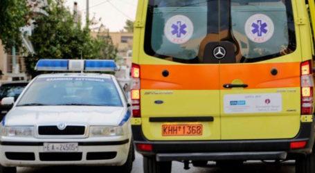 ΤΩΡΑ: Εκτροπή αυτοκινήτου στον Βόλο – Μεθυσμένος ο οδηγός