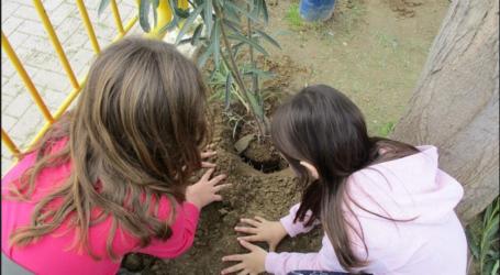 Ενημέρωση για το περιβάλλον και δενδροφύτευση από μαθητές σχολείου του Βόλου