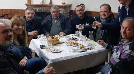 Με το τοπικό συμβούλιο Δράκειας συναντήθηκε η παράταξη «'Εξυπνη Πόλη»