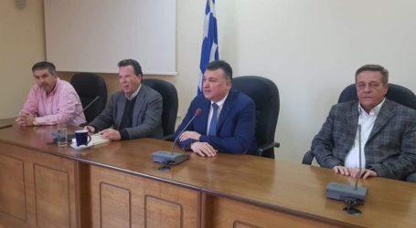 Συνάντηση Ν. Ευαγγέλου – Γ. Κύρτσου στην Ελασσόνα