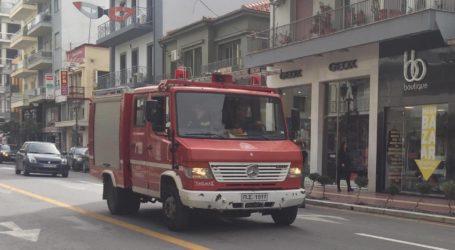 Φωτιά σε καμινάδα τζακιού στο Βελεστίνο