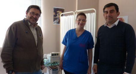 Δώρισαν καρδιοτοκογράφο στο Κέντρο Υγείας Σκιάθου