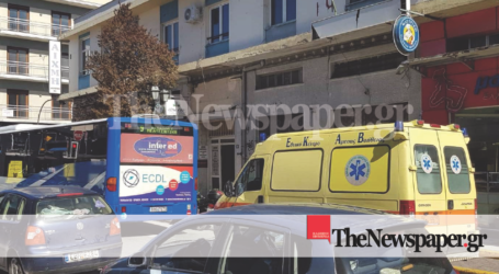 Ηλικιωμένος έπεσε μπροστά από λεωφορείο στο κέντρο του Βόλου [εικόνες]